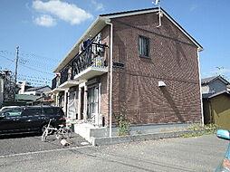 茨城県日立市鮎川町1丁目の賃貸アパートの外観