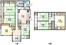 [一戸建] 愛媛県新居浜市萩生 の賃貸【/】の間取り
