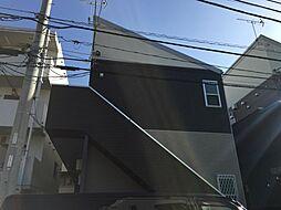 神奈川県大和市西鶴間1の賃貸アパートの外観