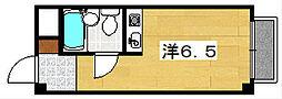 浜ハイツ[4階]の間取り