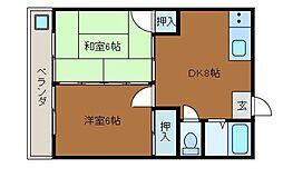プレイムK[2階]の間取り