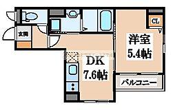 SHO[5階]の間取り