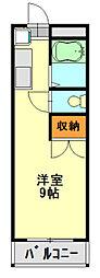 千葉県千葉市中央区大巌寺町の賃貸マンションの間取り