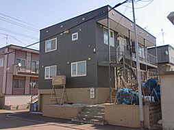 居鶴邸アパート[1号室]の外観