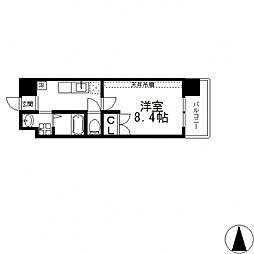 ANIMA−TO南上小阪[606号室号室]の間取り