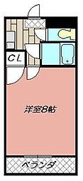 メゾン・ド・カリス[503号室]の間取り