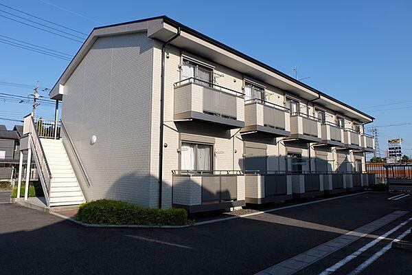 滋賀県守山市古高町の賃貸アパート