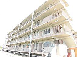 愛知県北名古屋市鹿田清井古の賃貸マンションの外観