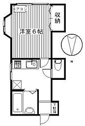 クイーンズマンション高崎J[312号室号室]の間取り