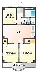宮澤マンション[2階]の間取り