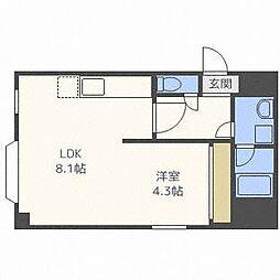 ファーム田村I[3階]の間取り