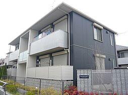 大阪府茨木市島4丁目の賃貸アパートの外観