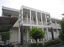 愛知県名古屋市緑区徳重2の賃貸アパートの外観