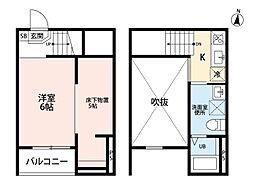 Ju-Jitsu Terrace(ジュウジツテラス) [1階]の間取り