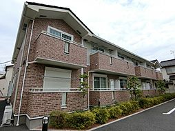 埼玉県草加市原町2丁目の賃貸アパートの外観