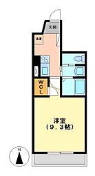 Sun Heart 池下 (サンハート)[4階]の間取り