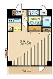 アビタシオン百合ヶ丘[1階]の間取り