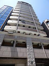 大阪府大阪市中央区高津2の賃貸マンションの外観