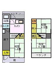 [一戸建] 大阪府門真市柳田町 の賃貸【/】の間取り