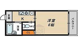 メゾン京橋5階Fの間取り画像