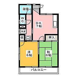 東伸ビル[3階]の間取り