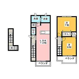 プリマヴェーラ II[2階]の間取り