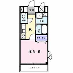 エトワ−ルI[0101号室]の間取り