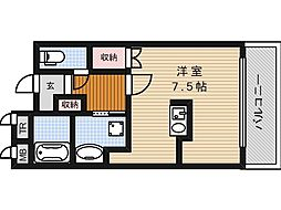 マンション陸央[2階]の間取り