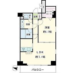 オベリスク藤崎[4階]の間取り