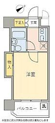 神奈川県横浜市鶴見区矢向2丁目の賃貸マンションの間取り