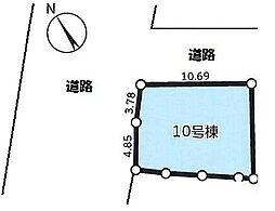 東大阪市日下町10号地 売り土地
