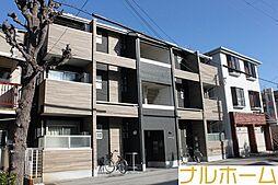 大阪府大阪市平野区加美東5の賃貸アパートの外観