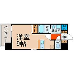 プレサンス名古屋STATION ザ・シティ[11階]の間取り