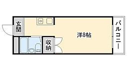 マンションRIKO[302号室]の間取り