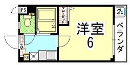 ジョイフル長澤[103号室]の間取り