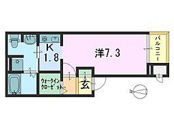 ガーデン・ヴィラ2[305号室]の間取り
