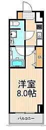 メイクスデザイン東向島[7階]の間取り