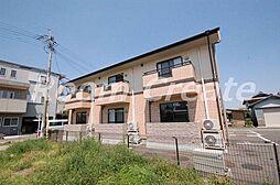 徳島県徳島市国府町早淵の賃貸アパートの外観