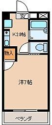 タイセイコーポラス[4階]の間取り
