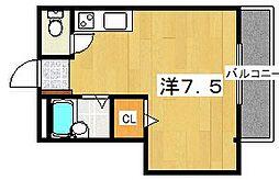 シャンティー家具[3階]の間取り