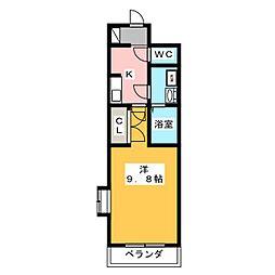 ブライトメッカ[2階]の間取り
