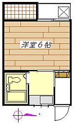 松栄ハイムII[103号室]の間取り