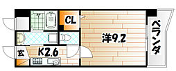 上野マンション[3階]の間取り