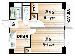 JONO APARTMENT[5階]の間取り