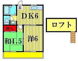 ピュアハウス[202号室]の間取り