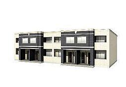 木更津市長須賀593番1新築アパート[101号室]の外観