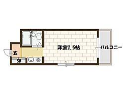 アミルIII番館[3階]の間取り