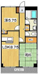第3杉山ビル[301号室号室]の間取り