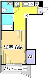 スラクストンパートII[2階]の間取り