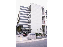 広島県三原市皆実3丁目の賃貸アパートの外観
